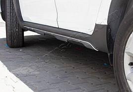 Накладки на дверній молдинг (6 шт, нерж) - Dacia Duster 2018+ рр.