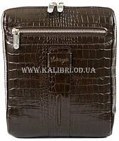 Мужская сумка через плечо кожа Karya 0678-57 коричневый Турция c34102b193b4a