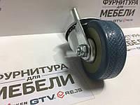 Ролик 322 с болтом М10, резиновый, d=50 мм, h=72 мм HTS (Турция) до 35 кг