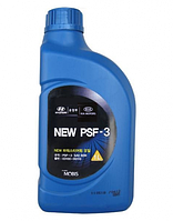 Жидкость ГУР полусинтетическая Hyundai Kia MOBIS PSF-3, 1 литр красная