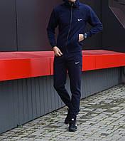 Мужской зимний спортивный костюм Nike (синий)