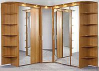 Угловой шкаф купе зеркальные ViAnt на заказ Киев, Ирпень, Буча