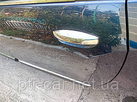 Накладки на ручки (4 шт, нерж.) - Dacia Lodgy 2013+ гг.