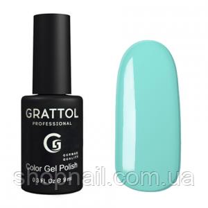 Grattol Gel Polish Pastel Blue №016, 9ml