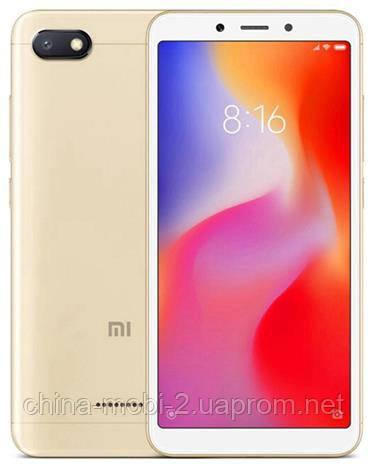 Смартфон Xiaomi Redmi 6A 16Gb Gold EU