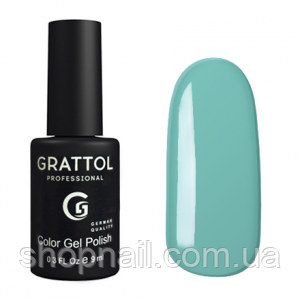 Grattol Gel Polish White Blue №017, 9ml