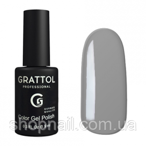 Grattol Gel Polish Pastel Grey №019, 9ml, фото 2