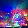 Новогодняя гирлянда 24м, 500LЕD разноцветная(белый провод)