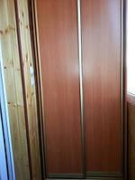 Шкаф купе на балкон на заказ 210*70*260 см