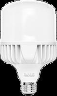 Лампа светодиодная BL 30W E27 4100К 2700 Lm мощная Delux, промышленная