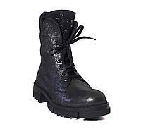 Грани. г. Одесса. Кожаные женские демисезонные ботинки Donna Ricco № 128-05 9b23d032d68
