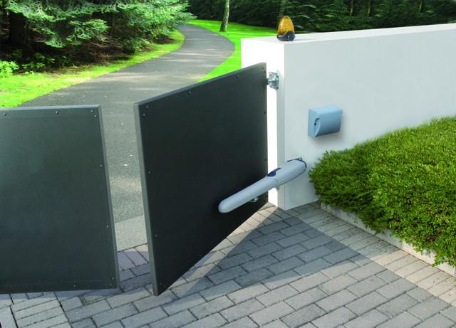 Дополнительные опции для уличных ворот