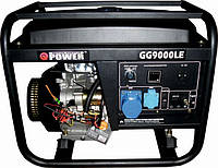 Бензогенератор Q-Power Рro GG9000LЕ 6кВт(6.6)