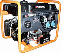 Бензогенератор Q-POWER QPG3000Е 2,6 (3,0) кВт, фото 1