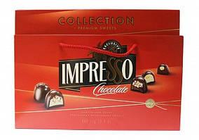 Подарочный набор Спартак шоколадных конфет «Impresso», красный 424 гр