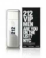 Мужская туалетная вода 212 VIP Men Carolina Herrera
