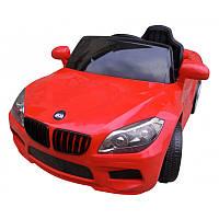 Детский электромобиль на аккумуляторе Cabrio B14 красный с пультом управления (чудомобиль), фото 1