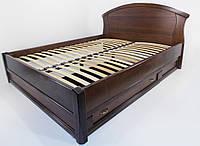 """Кровать деревянная """"Фиона"""" с ящиками"""