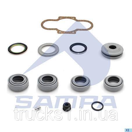 Р/к супорта гальмівного (пильники+прокладка) Volvo, Renault 095.621 (SAMPA)