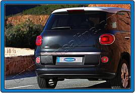 Кромка багажника (нерж.) - Fiat 500/500L