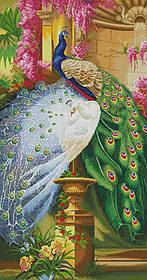 """Схема для вышивки бисером """"Прекрасные павлины"""""""
