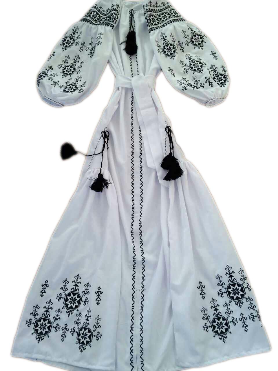 """Женское вышитое платье """"Агния"""" PU-0028"""