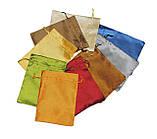 Мешочек для карт Таро, сатин, коричневый цвет ( 14,5х19,5см ), фото 2