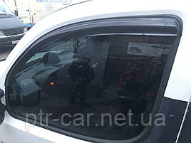 Ветровики (2 шт, DDU) - Fiat Doblo I 2001-2005 гг.