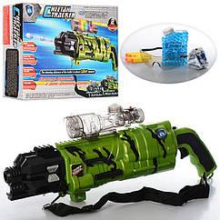 🔥✅ Детский Автомат на аккумуляторе 666-1 с водными пульками и лазерным прицелом
