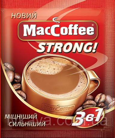 Кофейный напиток MacCoffee Strong 3-в-1 ,25 пак, фото 2