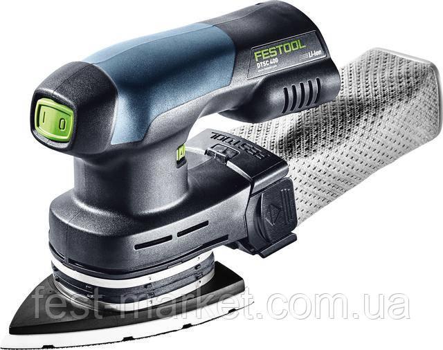 Аккумуляторная дельтавидная шлифовальная машинка DTSC 400 Li 3,1 I-Set Festool 575703