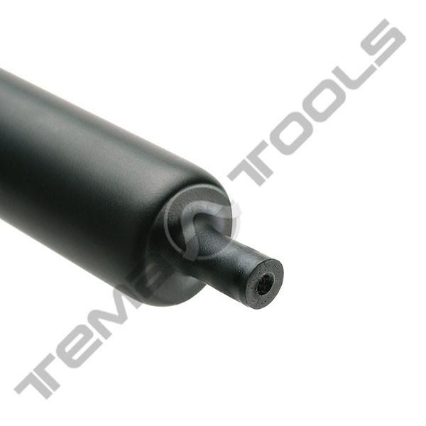Трубка термоусадочная с клеем 43.2/12 мм 1 м - толстостенная термоусаживаемая клеевая трубка ТУТ