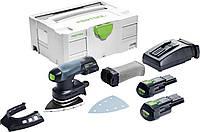 Аккумуляторная дельтавидная шлифовальная машинка DTSC 400 Li 3,1 I-Plus Festool 575710