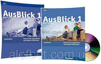 Немецкий язык / AusBlick / Kursbuch+Arbeitsbuch+CD. Учебник+Тетрадь (комплект с диском), 1 / Hueber