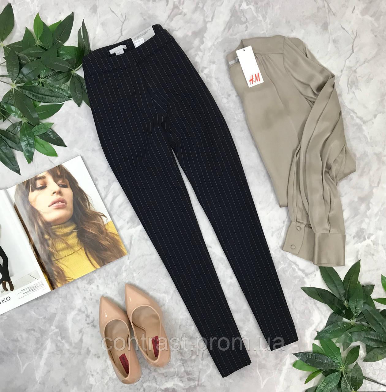 Классические брюки в полоску H&M  PN1845068 H&M