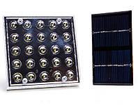 Лампа светодиодная GD-025 25LED с солнечной панелью
