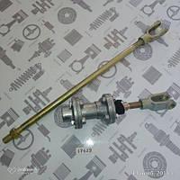 Клапан сцепления МАЗ (В СБОРЕ с вилками) шток 350мм (GO) (5551-1602738-10)