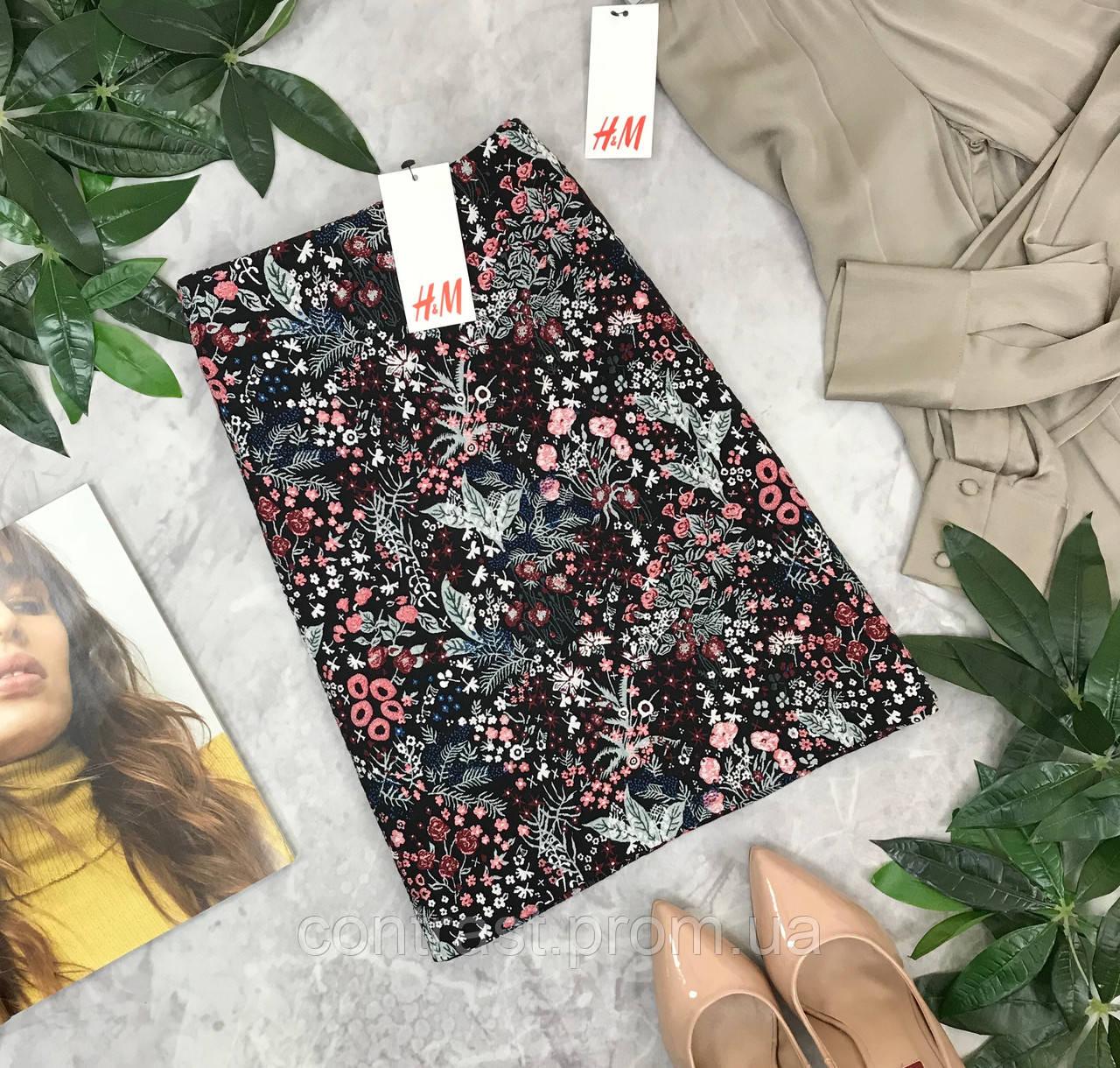 Клёвая юбка с цветочным принтом H&M  KI1845112 H&M