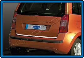 Кромка багажника (нерж.) - Fiat Idea 2003 +