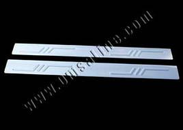 Накладки на пороги (2 шт, нерж.) - Fiat Marea 1999+ гг.