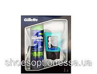 Набор для бритья Gillette Series Sensitive гель для бритья, гель после бритья
