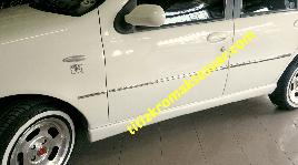 Молдинг дверей (6 шт, нерж) - Fiat Palio 1998+ гг.