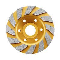 Drillpro100x22.23mmАлмазнаяпилаЗолотоешлифовальное колесо для резки бетонного гранита 1TopShop