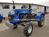 Трактор DW240B, 24 л.с, водяное охлаждение двигателя, 3х точечная навесная система, задний ВОМ!