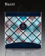 """Пакет с пластиковой ручкой большой """"Роял лого""""441 (10 шт)"""
