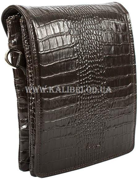f170379e7012 Мужская сумка через плечо кожа Karya 0366-57 коричневый Турция - Kalibri  Odessa в Одессе