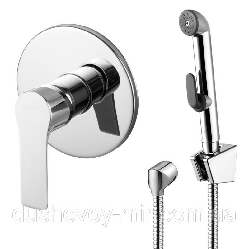 KUCERA набор (смеситель скрытого монтажа с гигиеническим душем), VR30105Z-BT