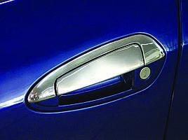 Накладки на ручки с верхней частью (нерж) - Fiat Punto Grande/EVO 2006+ и 2011+ гг.