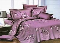 Двуспальный комплект постельного белья евро 200*220 хлопок  (10361) TM KRISPOL Украина