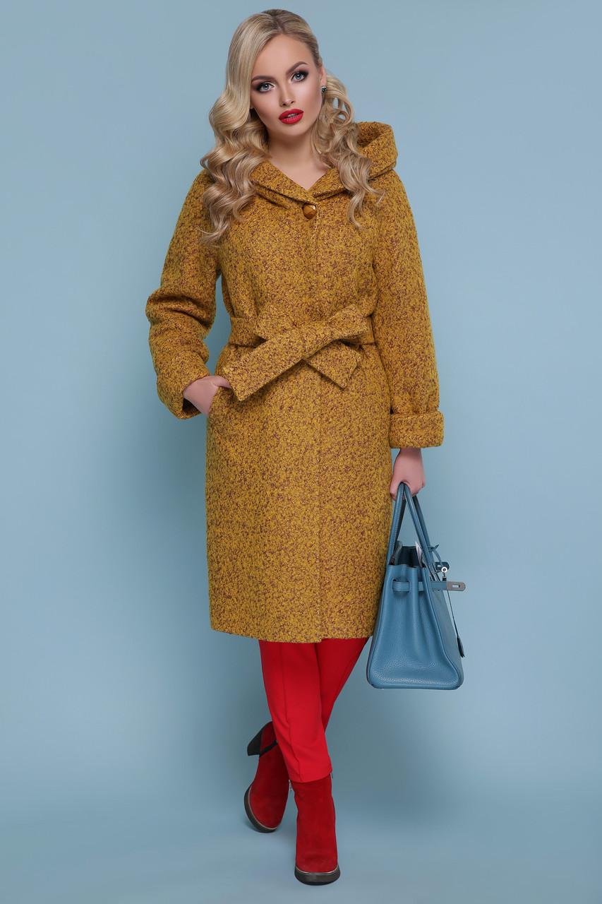Зимнее женское пальто  с утеплителем Большие Размеры 42-44-46-48-50-52-54-56